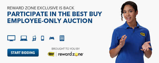 PO1500M A marquee banner en Best Buy: Reward Zone Private Marketplace Auctions