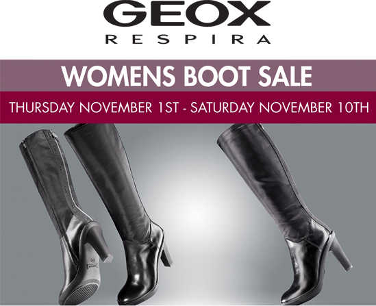 geoxbootsale Geox Warehouse Event: Womens Boot Sale