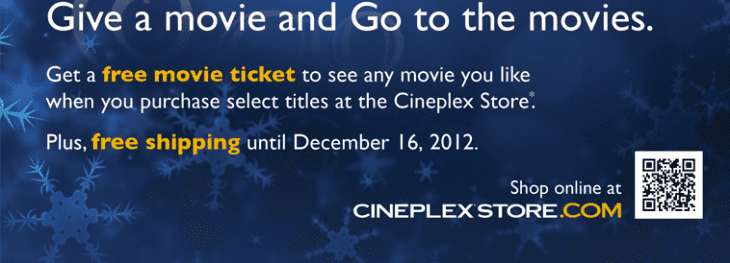 cineplexstore 730x263 Cineplex Store: Get a Free Movie Ticket With Select Titles
