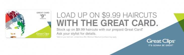 greatclips 730x221 Great Clips: $9.99 Haircuts with Prepaid Card