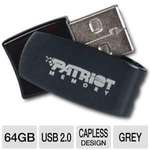 patriot TigerDirect: Patriot Axle 64GB USB 2.0 Flash Drive for $19.97