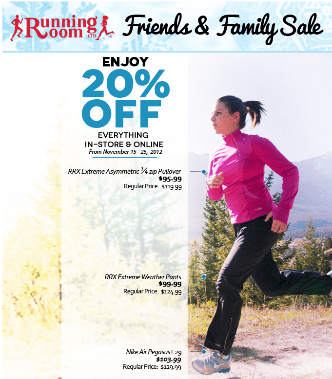 Running Room Canada Coupon