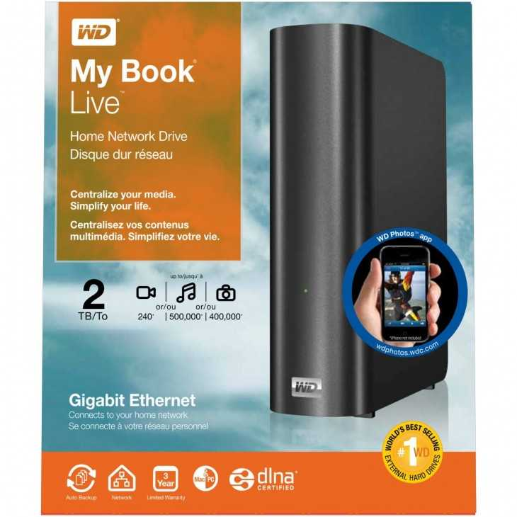 wdmylivebook 730x730 Amazon.ca: Western Digital My Book Live Drives