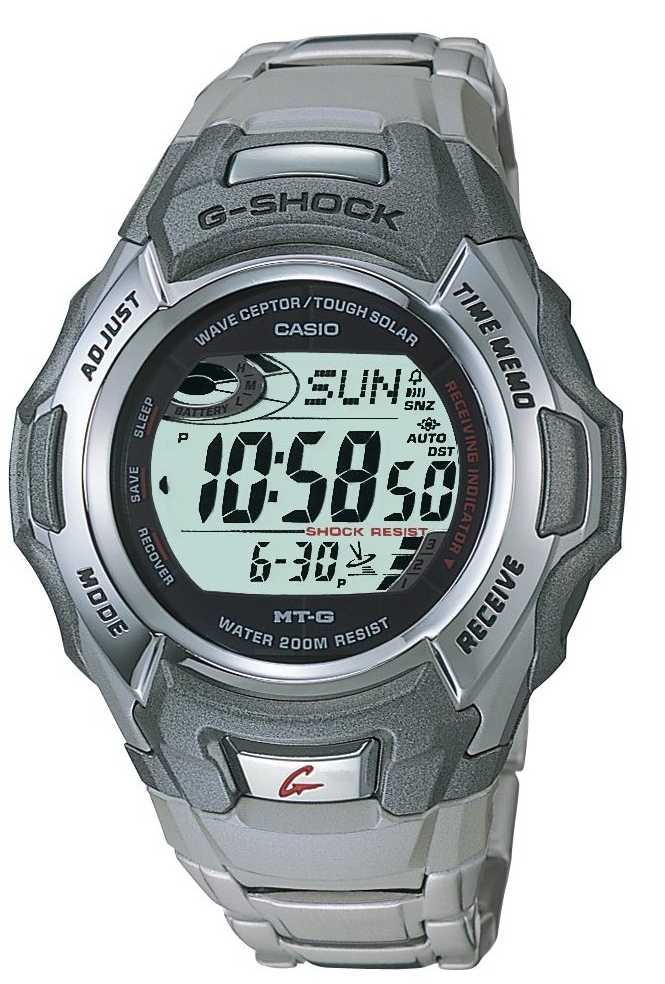 casio men 39 s g shock solar watch for