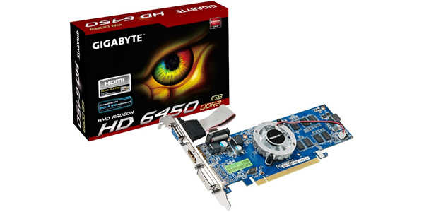 72269 l NCIX: Gigabyte Radeon HD 6450 for $12.99 (After Rebate)
