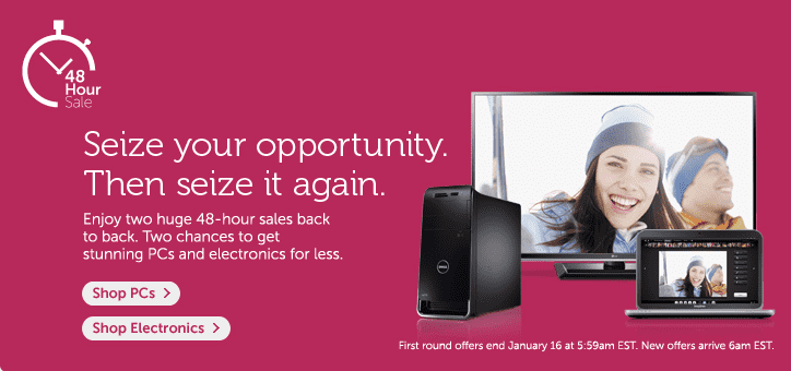 Dell 48-hour Sale