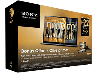 Sony Store James Bond Collection