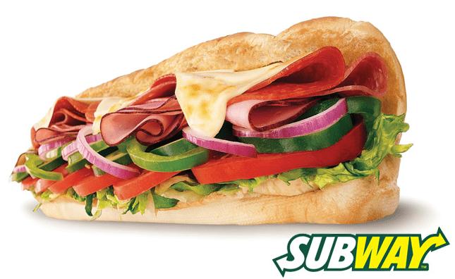 Subway Canada $5 Footlong Sub