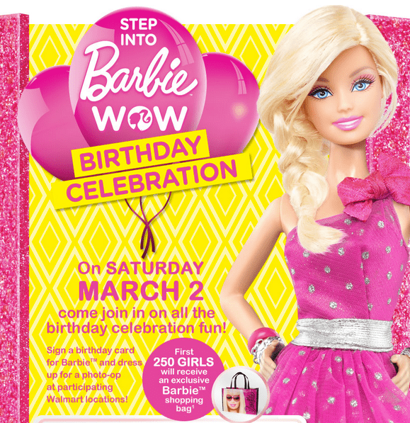 Screen Shot 2013 03 02 at 3.48.03 AM Walmart Canada Event: Barbie Birthday Celebration