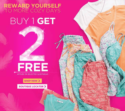 Screen Shot 2013 03 15 at 7.03.43 AM La Vie en Rose Offer: Buy One Get Two Free +  Buy 1 Swim Set Get The 2nd At 25% Off