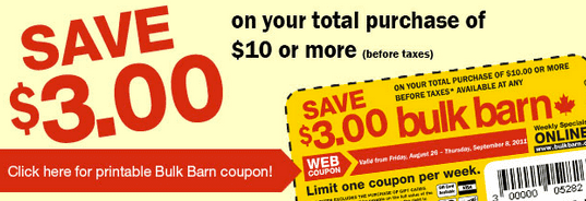 Screen Shot 2013 03 16 at 6.19.49 PM Bulk Barn Coupon: Save $3 On Your Total Purchase Of $10