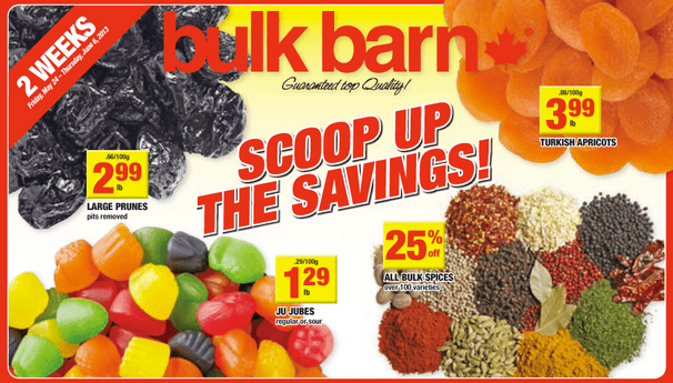 Bulk Barn Coupon Bulk Barn Canada Coupons: Save $3 on Your Purchase of $10