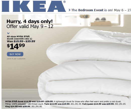 ikea canada bedroom event get all sizes mysa str duvet for hot canada deals hot. Black Bedroom Furniture Sets. Home Design Ideas