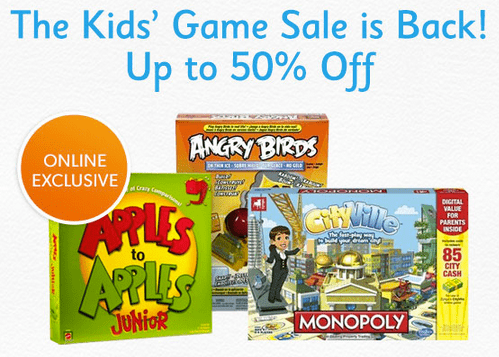 Chapters Indigo Canada Chapters Indigo Kids Game Sale: Save Up To 50% Off