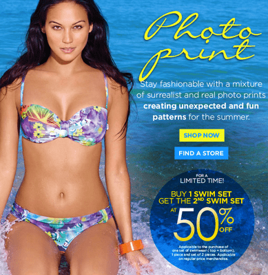 Screen Shot 2013 06 05 at 10.52.43 PM La Vie en Rose Canada Deals: Buy 1 Swim Set Get 2nd swim Set at 50% off