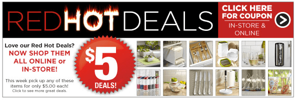 Kitchen stuff plus offers kitchen stuff plus offers red hot 5 deals