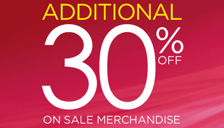 Screen Shot 2013 07 24 at 2.41.08 AM  La Vie en Rose Sale: Save an Additional 30% on Sale Merchandise!