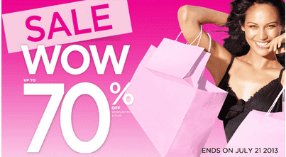 la1 La Vie en Rose Outlet Offers: Get Up To 70% off Selected Styles & More
