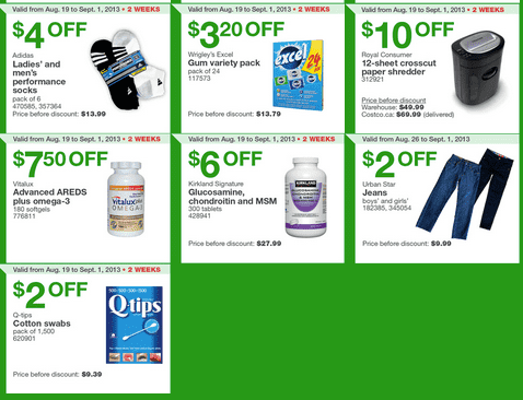 Costco Canada Eastern  Costco Canada Eastern Weekly Instant Handouts: (Ontario, Quebec & Atlantic) From August 26, Until Sepember 1, 2013