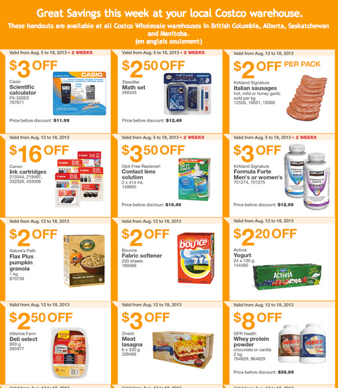 Screen Shot 2013 08 12 at 10.23.15 AM Costco Canada Western Weekly Instant Handouts: (BC, AB, SK & MB) August 12 to August 18, 2013