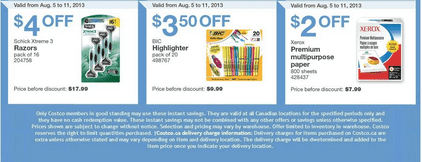 c4 Costco Canada Weekly Instant Handouts: (BC, AB, SK & MB) August 5 to 11
