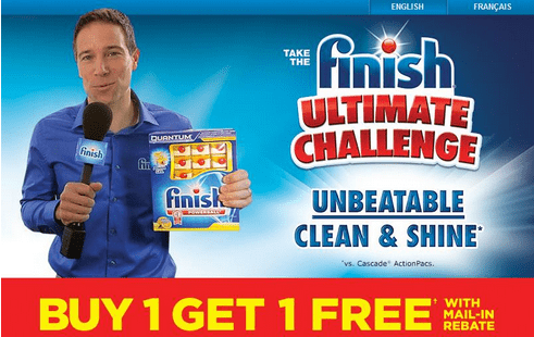 13 Finish Deals: Buy One, Get One FREE, With Mail In Rebate