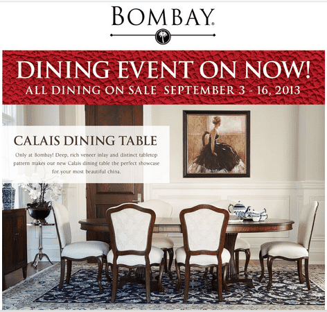 Bombay.ca coupons