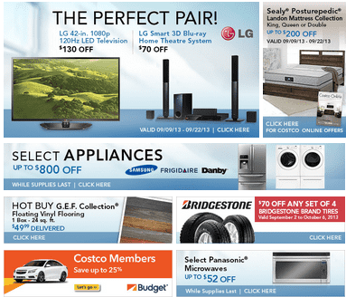 Costco Costco Canada Offers: Save Up To $800 on Selected Appliances & More!