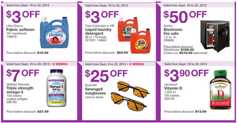 c31 Costco Canada Eastern Weekly Instant Handouts: Ontario, Quebec & Atlantic, September 16 to 22, 2013