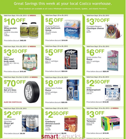 c32 Costco Canada Eastern Weekly Instant Handouts: Ontario, Quebec & Atlantic, September 23 to 29, 2013