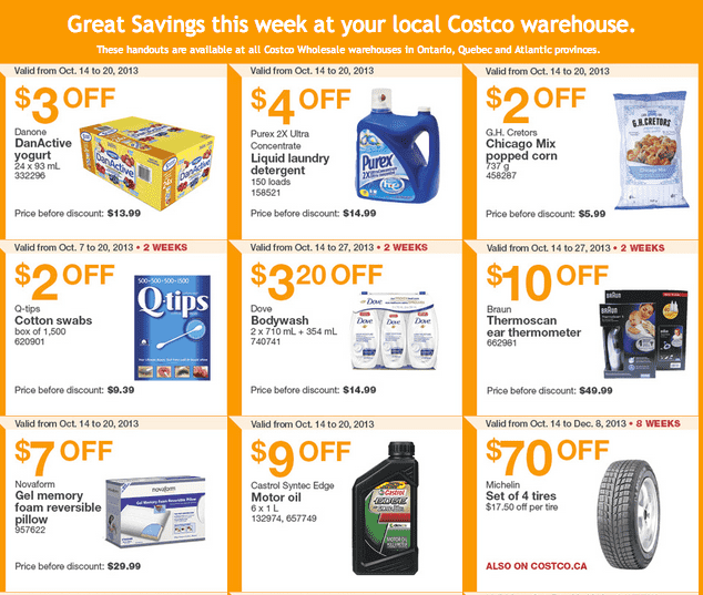 Screen Shot 2013 10 14 at 5.31.22 AM1 Costco Canada Eastern Weekly Instant Handouts: Ontario, Quebec & Atlantic, October 14 to 20, 2013
