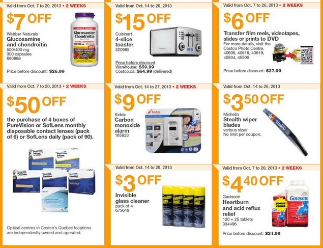 Screen Shot 2013 10 14 at 5.31.47 AM1 Costco Canada Eastern Weekly Instant Handouts: Ontario, Quebec & Atlantic, October 14 to 20, 2013