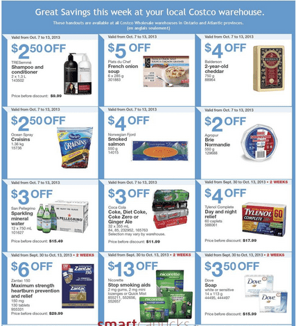 ce1 Costco Wholesale Canada Weekly Handouts for Ontario & Atlantic: October 7 To 13, 2013