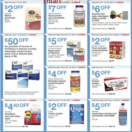 ce2 Costco Wholesale Canada Weekly Handouts for Ontario & Atlantic: October 7 To 13, 2013
