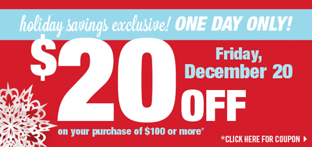 Shoppers Drug Mart Coupons Shoppers Drug Mart Printable Coupons: Save $20 when you Spend $100, Friday, December 20