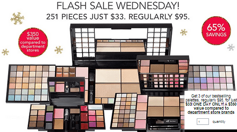 e.l.f. e.l.f. Cosmetics Flash Sale Wednesday: Get 3 Bestselling Palettes for Just $33 (Save 65%)