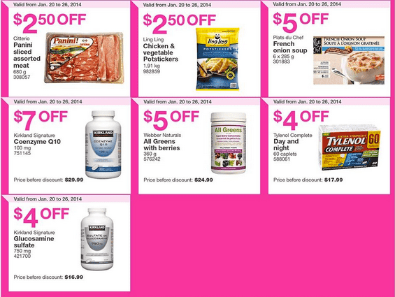 Costco 3 Costco Canada Flyers/Coupons for (British Columbia, Alberta, Saskatchewan & Manitoba) From January 20   26, 2014