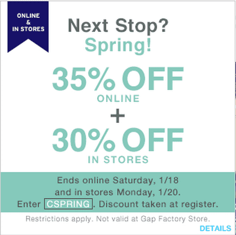 The Gap website lets shoppers enjoy a convenient one-cart shopping experience, where items from either one of the Gap Inc. stores are combined into a single order. So, no more dashing between stores to pick up this season's hottest trends; Gap online Canada has you covered with the latest fashions in one convenient online location!