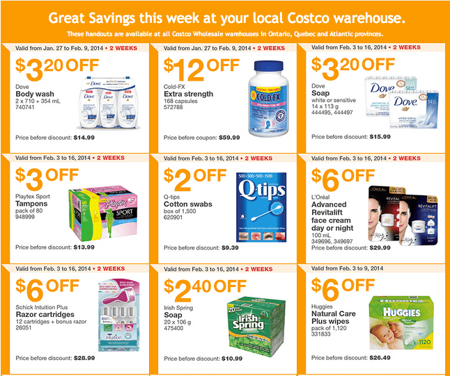 Costco East 1 Costco Canada Eastern Weekly Instant Handouts: Ontario, Quebec & Atlantic, February 3   9, 2014