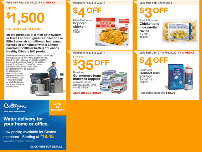Costco West 4 Costco Canada Western Weekly Instant Handouts: British Columbia, Alberta, Saskatchewan & Manitoba, February 3   9, 2014