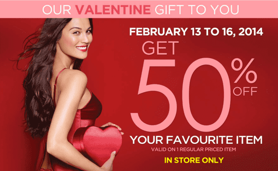 La Vie en Rose Canada Coupons  La Vie en Rose Canada Coupons: Save 50% on Your Purchase for Valentine's Day Gift!