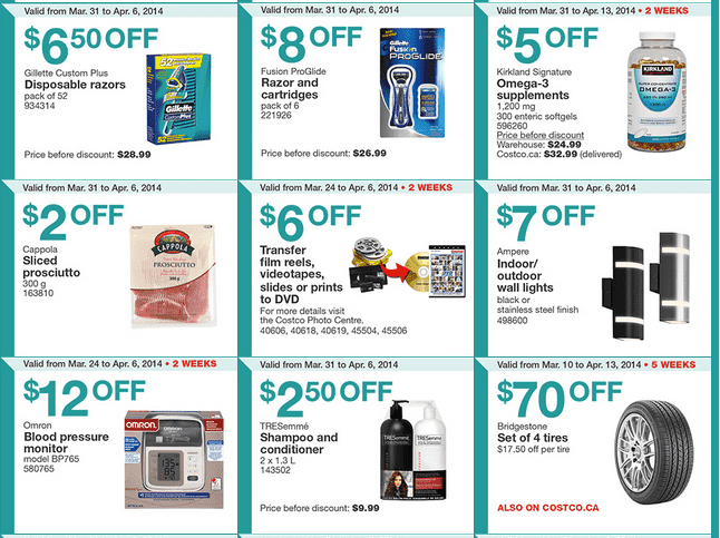 Costco east 2 Costco Canada Eastern Weekly Instant Handouts Flyers: Ontario, Quebec & Atlantic, March 31 To April 6, 2014