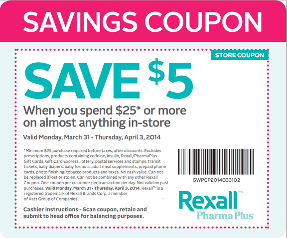 Rexall pharma plus archives hot canada deals hot canada for American frame coupon code
