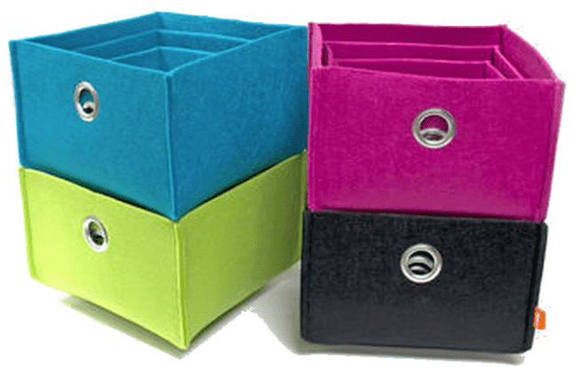 Walmart Walmart Canada Clearance Offers: Save 50% On Neatfreak Felt Storage Bins   3 pack