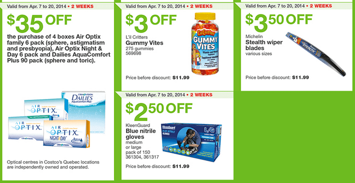 Costco Canada Eastern Flyers1 Costco Canada Weekly Handouts Coupons: Ontario, Quebec & Atlantic Monday, April 7 13