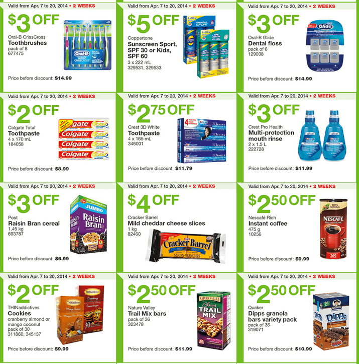 Costco Canada Eastern Weekly Instant Flyer Costco Canada Weekly Handouts Coupons: Ontario, Quebec & Atlantic Monday, April 7 13