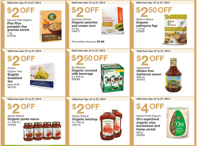 Costco e 21 Costco Canada Weekly Instant Handouts Coupons: Ontario, Quebec & Atlantic, Monday, April 21 To Sunday, April 27, 2014