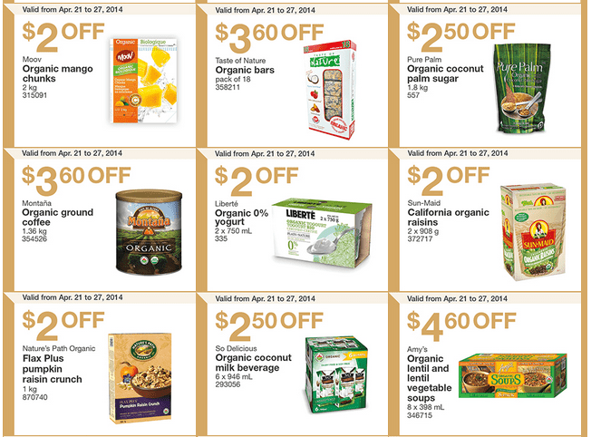 Costco w 2 Costco Canada Weekly Instant Handouts Coupons: British Columbia, Alberta, Saskatchewan & Manitoba, Monday, April 21 To Sunday, April 27, 2014