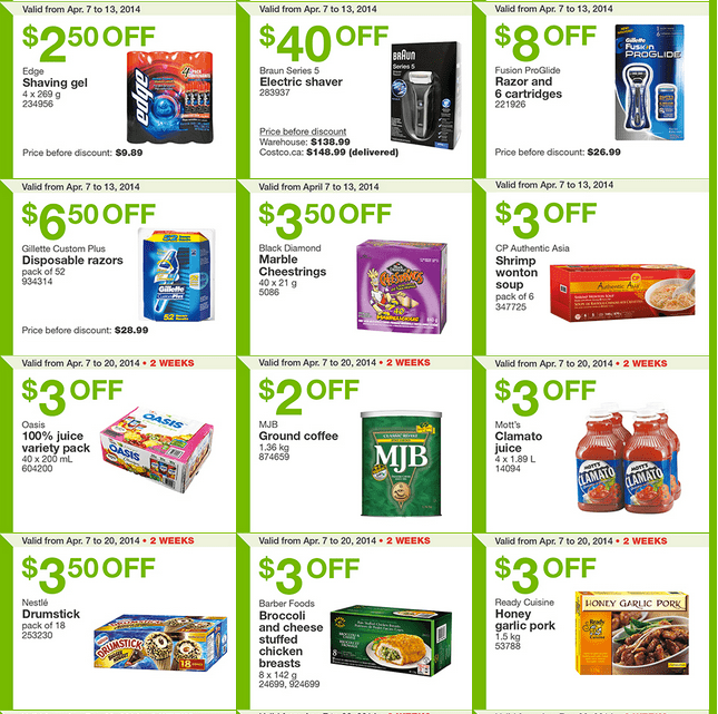 Costco west 2 Costco Canada Weekly Instant Handouts Coupons For British Columbia, Alberta, Saskatchewan & Manitoba, April 7   13, 2014
