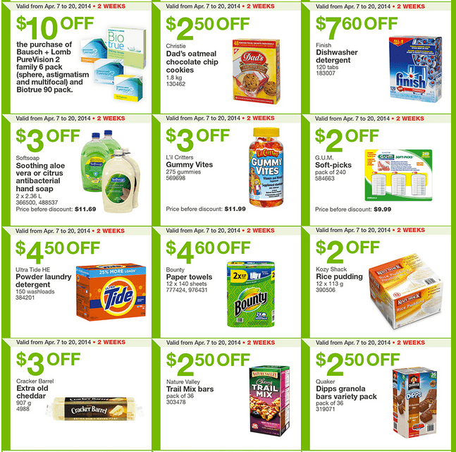 Costco west 4 Costco Canada Weekly Instant Handouts Coupons For British Columbia, Alberta, Saskatchewan & Manitoba, April 7   13, 2014